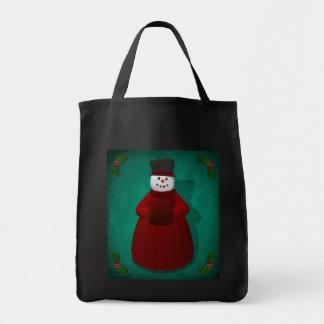Vintage Snowmen: Lady Cool Bags