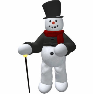 Vintage Snowmen: Lord Cool Photo Cut Out