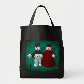 Vintage Snowmen: Lord & Lady Cool Bags