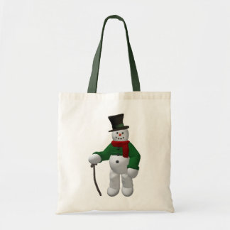 Vintage Snowmen: Mr. Cratchit Bag