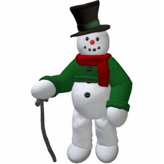 Vintage Snowmen: Mr. Cratchit Statuette