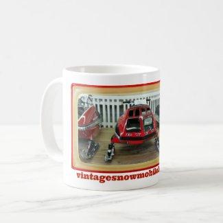 Vintage Snowmobile Lovers 11 Ounce                               RUPP Mug