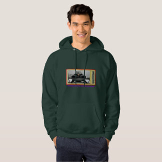 Vintage Snowmobile Lovers 1972 Arctic Cat Hoodie