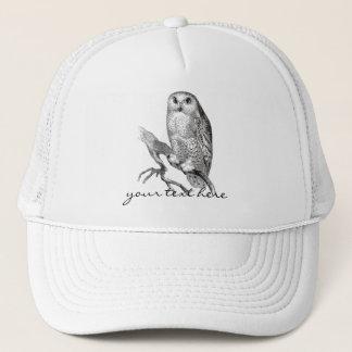 Vintage Snowy Owl Hat