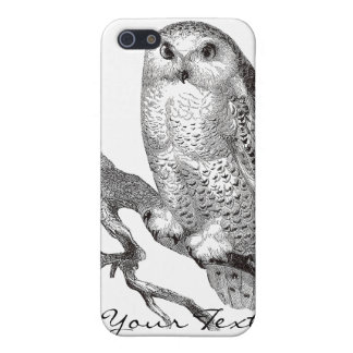 Vintage Snowy Owl iPhone 4 Speck Case Cases For iPhone 5