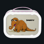 """Vintage Snuffleupagus Lunch Box<br><div class=""""desc"""">Check out Snuffy in this vintage graphic!        This item is recommended for ages 2 . &#169;  2014 Sesame Workshop. www.sesamestreet.org</div>"""