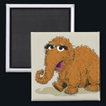 """Vintage Snuffleupagus Magnet<br><div class=""""desc"""">Check out Snuffy in this vintage graphic!          This item is recommended for ages 13 . &#169;  2014 Sesame Workshop. www.sesamestreet.org</div>"""