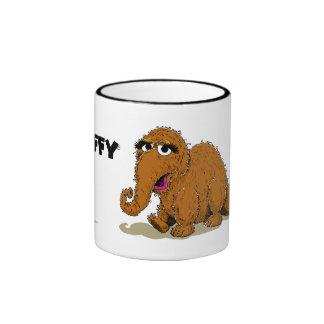 Vintage Snuffleupagus Ringer Coffee Mug