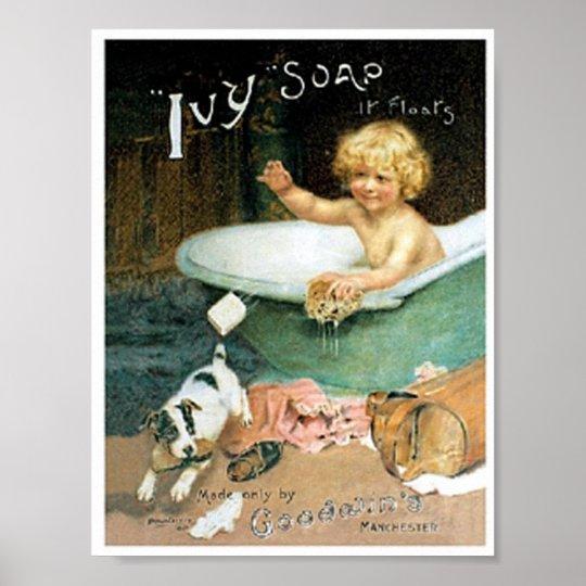 Vintage Soap Ad Print | Zazzle.com