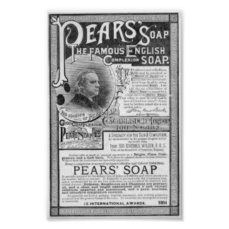 Vintage Soap Ad Print. Poster