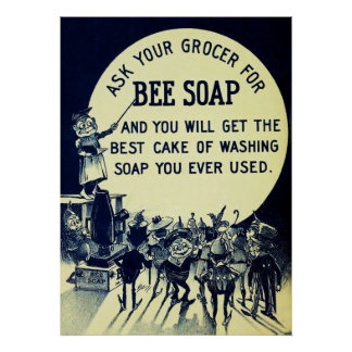 Vintage Soap Advertising Poster