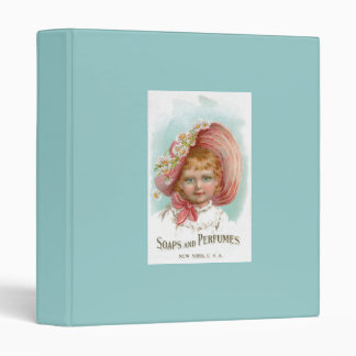 Vintage Soaps and Perfumes Advertisement 3 Ring Binder