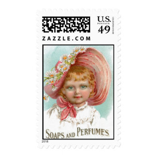 Vintage Soaps and Perfumes Advertisement Stamps