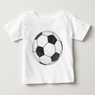Vintage Soccer Ball Baby T-Shirt