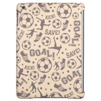 Vintage Soccer Pattern iPad Air Covers