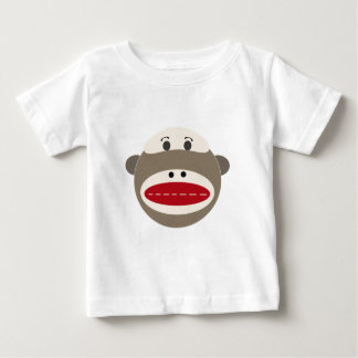 Vintage Sock Monkey by OOPSY Baby T-Shirt
