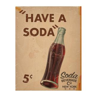Vintage Soda Poster