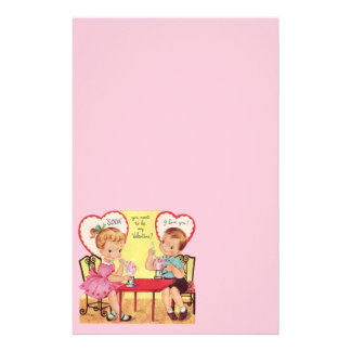 Cute Valentine Stationery | Zazzle