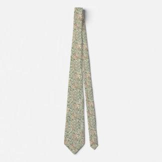 Vintage Soft Modern Summer Floral Tie