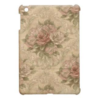 Vintage Soft Rose Floral iPad Mini Cases