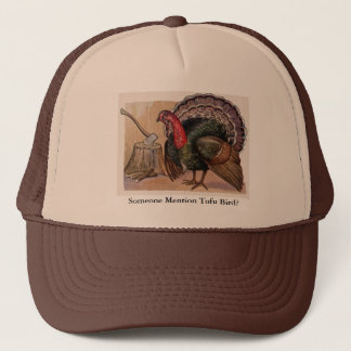 Vintage Someone Mention Tofu Bird Hat