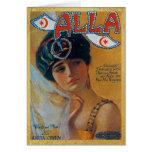 Vintage Song Sheet Alla Card