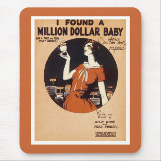 Vintage Songsheets 1900's-1920's Mouse Pad