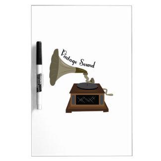 Vintage Sound Dry-Erase Board