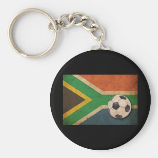 Vintage South Africa Football Keychain