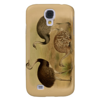 Vintage South American Rhea Birds Samsung Galaxy S4 Cover