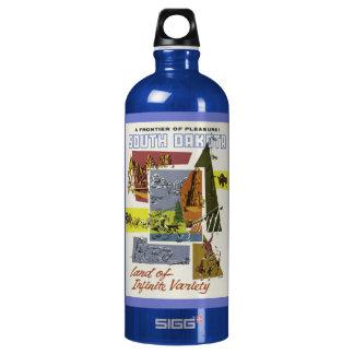 Vintage South Dakota custom name travel bottles