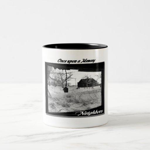 vintage South Dakota town mugs