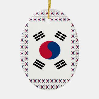 Vintage South Korea Ceramic Ornament