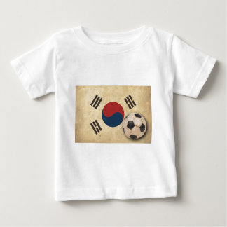 Vintage South Korea Football Baby T-Shirt