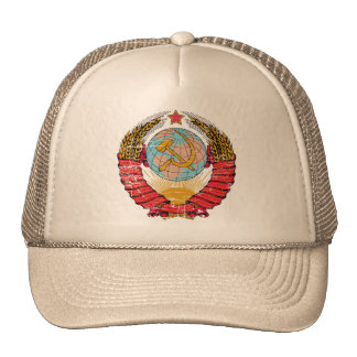 Vintage Soviet Union Trucker Hat