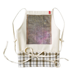 Vintage Space dictionary book Zazzle HEART Apron