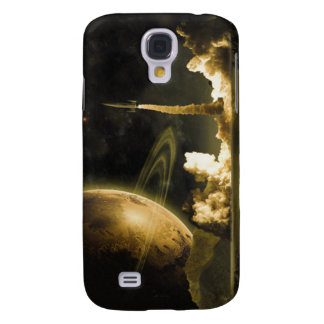 Vintage Space Launch Galaxy S4 Cover