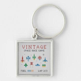 Vintage Space Race Keychain