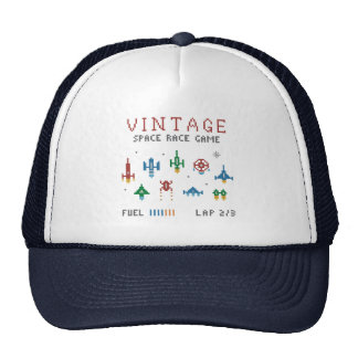 Vintage Space Race Trucker Hat