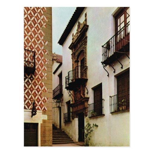 Vintage spain barcelona pueblo espanol postcard zazzle - Mobles vintage barcelona ...