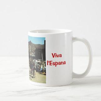 Vintage Spain, Catalan, dance Sardane Coffee Mug