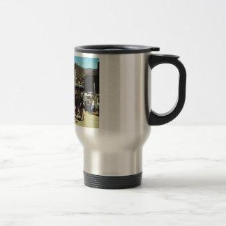 Vintage Spain, Catalan, dance Sardane Travel Mug