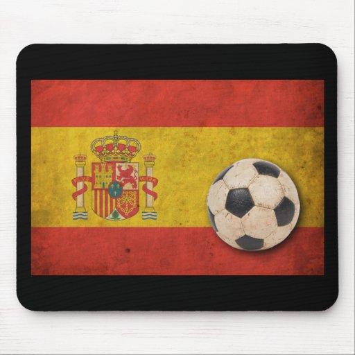 Vintage Spain Flag Mousepads
