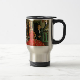 Vintage Spain, Flamenco dancers Travel Mug