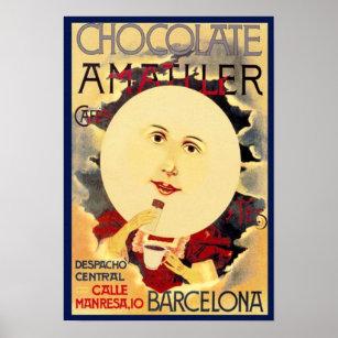 Chocolate Advertising Posters & Photo Prints | Zazzle
