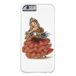 Vintage Spanish Doll Barely There iPhone 6 Case