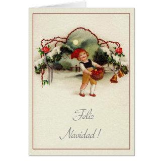 Spanish christmas greeting cards retro spanish christmas cards retro spanish christmas m4hsunfo