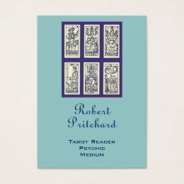 Vintage Spanish Tarot Business Card