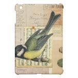 Vintage Sparrow Bird & Music iPad Case