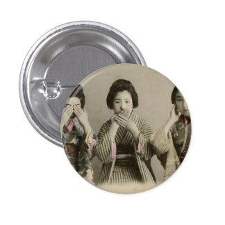 Vintage Speak No Evil Pin